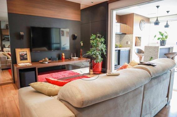 Apartamento Com 3 Dormitórios À Venda, 132 M² Por R$ 830.000,00 - Edifício Fernando Pessoa - Londrina/pr - Ap0388