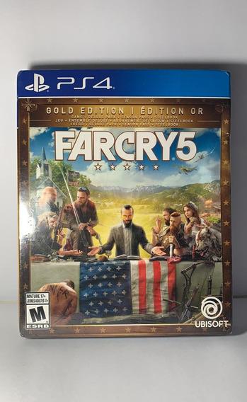 Far Cry 5 Gold Edition - Leia Descrição - Mídia Física - Ps4