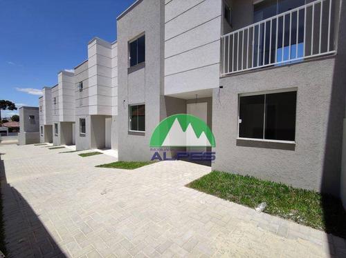 Sobrado Com 2 Dormitórios À Venda, 52 M² Por R$ 220.000,00 - Pinheirinho - Curitiba/pr - So1391