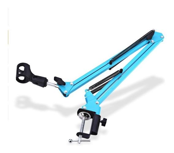 Suporte Pedestal De Mesa Articulado - Waver Azul Promoção