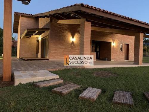 Chácara À Venda, 1720 M² Por R$ 1.570.000,00 - Terras De Itaici - Indaiatuba/sp - Ch0038