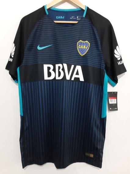 Camiseta Nike Boca Alternativa 3ra 2017/18 Match. Original.