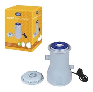 Filtro Piscina 220v 110v Mor Bomba Vazão 2.200 L/h Refil Mor
