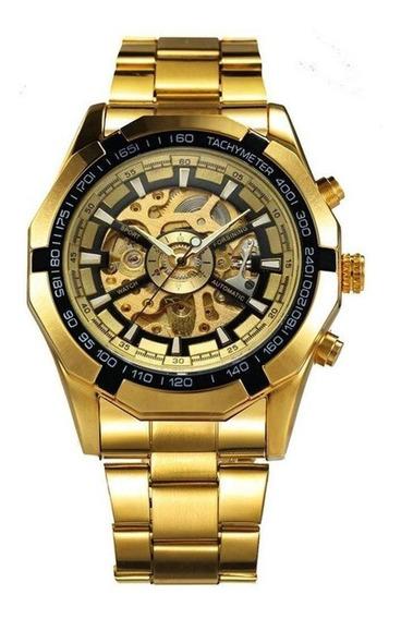 Relógio Masculino Forsining 188 Esqueleto Fashion Original