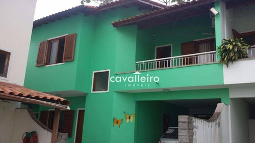 Casa Residencial À Venda, Centro, Maricá. - Ca2221