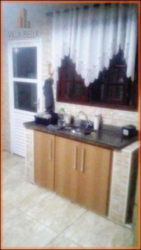 Casa Com 3 Dormitórios À Venda, 106 M² Por R$ 740.000,00 - Campestre - Santo André/sp - Ca0435