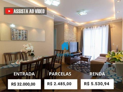 Ap2369 - Apartamento Com 2 Dormitórios À Venda, 51 M² Por R$ 320.000 - Jardim Umarizal - São Paulo/sp - Ap2369