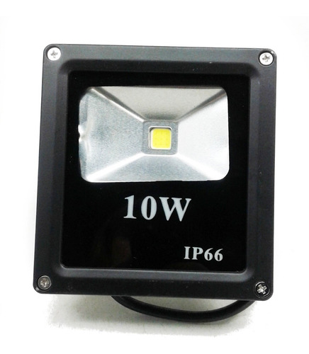 Foco Led Reflector 10 W Luz Fria Exterior 10und X U$63  $cm