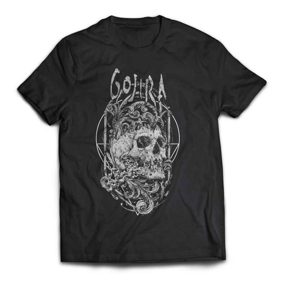 Camiseta Gojira Skull Rock Activity