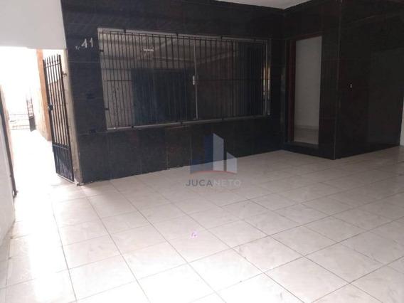Sobrado Com 3 Dormitórios Para Alugar, 266 M² Por R$ 2.500/mês - Vila Aquilino - Santo André/sp - So0097