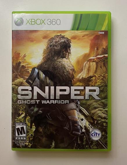 Sniper Ghost Warrior. Original, Perfeito Estado, Completo.