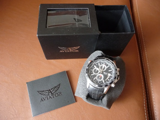 Reloj Aviator Traveller Collection.