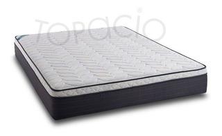 Colchón Topacio Puissant 200x200 Resortes Euro Pillow
