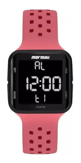 Relógio Mormaii Feminino Digital Mo6600ae/8t Rosa Preto