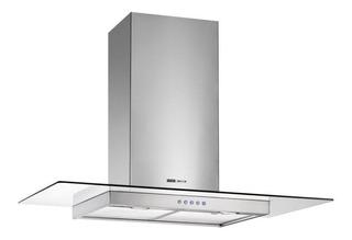 Extractor purificador cocina Spar Vetro ac. inox. y vidrio de pared 598mm x 48mm x 520mm plateado 220V