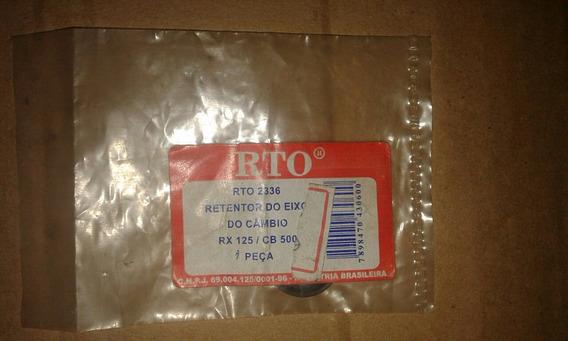 Retentor Rto Câmbio Rx 125 /cb 500