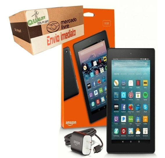 Tablet Amazon Fire7 Hd 16gb Wifi Com Alexa Android Original