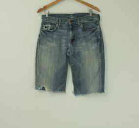 Bermuda Jeans Seven - Tamanho 40/42