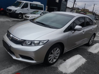 Honda Civic 2014 Lxs Automático Completo