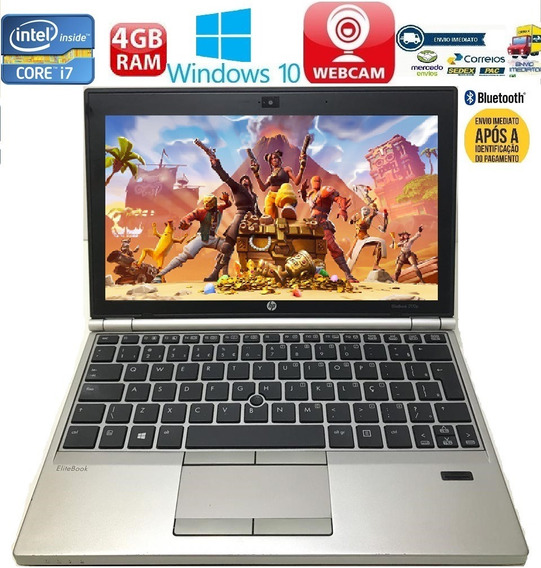 Notebook Hp Elitebook 2170p I7-3667u 750gb 4gb Roda Fortnite