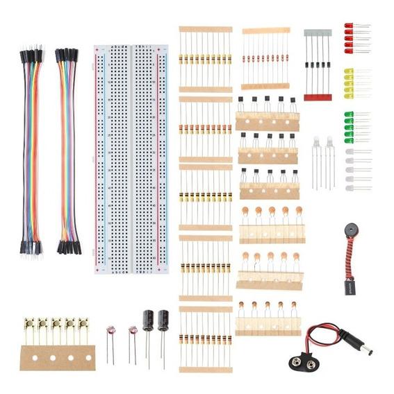 Kit Iniciante P/ Arduino Uno R3 C/ 150 Componentes + Brinde