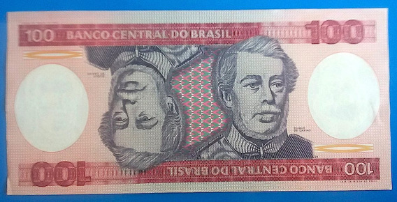 V 9152 Cédula C 157 100 Cruzeiros 1982 Família Real