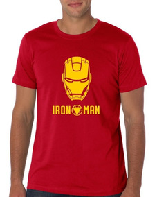 Camiseta Estampada Iron Man Red
