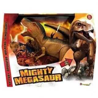 T - Rex Mighty Megasaur Con Luz Y Sonido