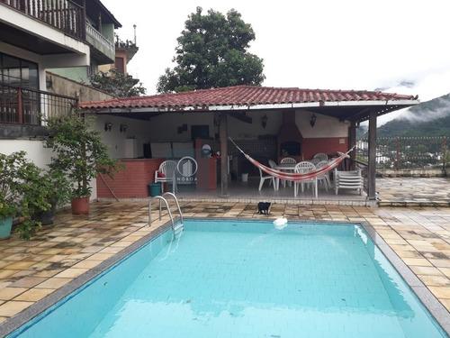 Casa A Venda No Bairro Fazendinha Em Teresópolis - Rj.  - Ca 02010-1
