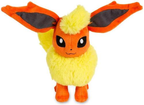 Peluche Flareon Pokemon Hipoalergénico 23cm (clase A1)