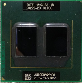 Intel Core 2 Quad Q9100 2.26ghz Notebook
