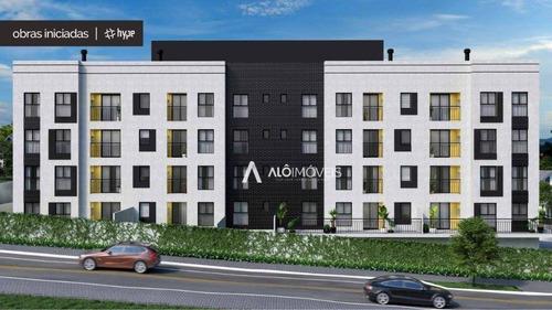 Apartamento Com 3 Dormitórios À Venda, 56 M² Por R$ 218.900,00 - Centro - Araucária/pr - Ap0433