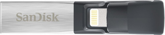 Sandisk Ixpand Flash Drive 128gb For iPhone And iPad, Black/