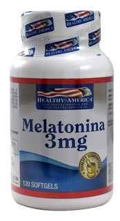 Melatonina Healthy America 3 Mg - L a $1