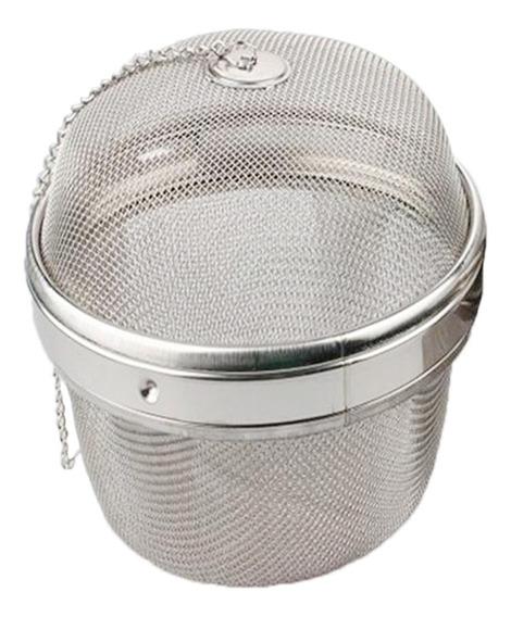 Cabilock Bolsa de Condimentos para Especias Canasta de Filtro de T/é de Malla Infusor Colador de T/é Herramientas de Cocina de Acero Inoxidable Bola de Hierbas de Malla Herramientas de
