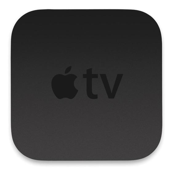 Streaming media player Apple TV 4K A1842 de voz 32GB preto com memória RAM de 3GB
