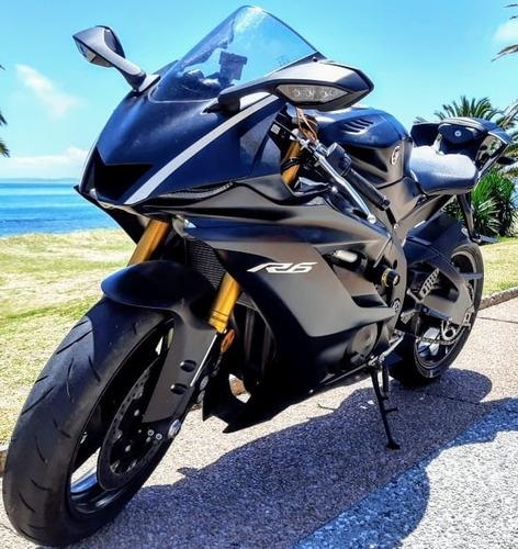 Yamaha R6 Mod 2018 Rodada 19 6000 Kmts Impecable Sin Detalle