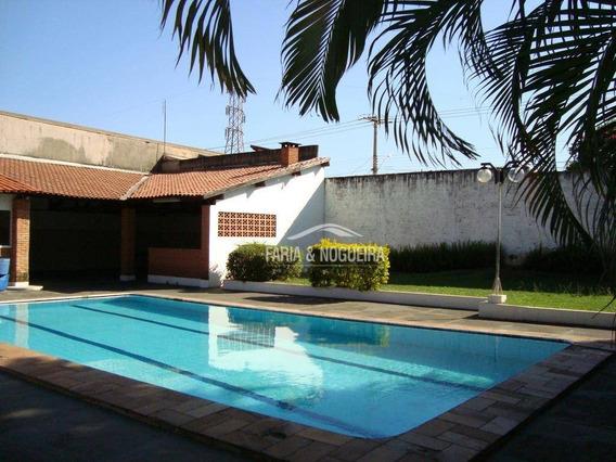 Chácara Residencial À Venda, Jardim Mirassol, Rio Claro. - Ch0002