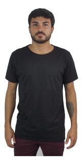 Camiseta Masculina Gola Corte A Fio