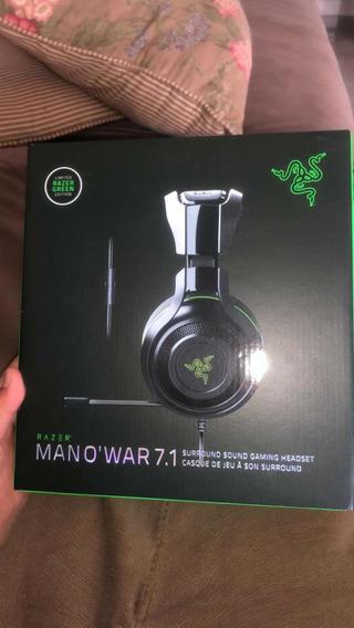Fone Razer Mano War 7.1 Usado
