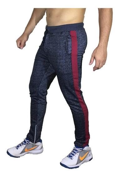 Calça De Moleton Masculina Saruel Skinny Luxo Track Pants