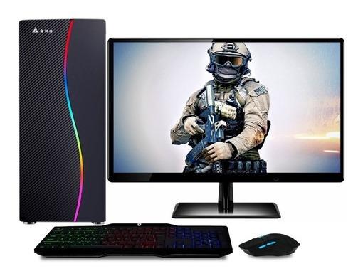 Computador Gamer Completo Com Monitor Led Intel Core I5 8gb
