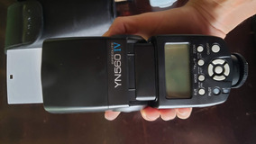 Flash Speedlight Yongnuo Yn560 Iv Para Canon, Nikon, Sony