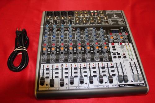 Consola Mixer Behringer Digital 16 Canales+efectos Fx