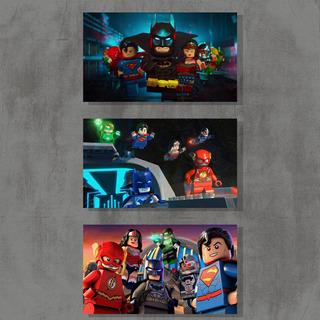 Lego Lote De 20 Preto 4 X 4 Placas De Ponto-Novo