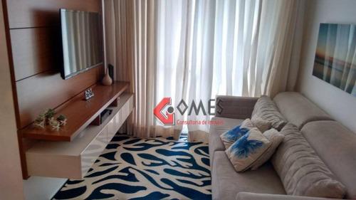 Apartamento Com 3 Dormitórios À Venda, 60 M² Por R$ 320.000 - Baeta Neves - São Bernardo Do Campo/sp - Ap2632
