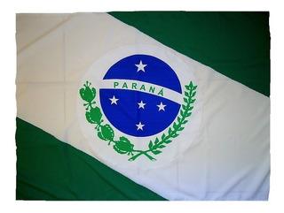 Bandeiras Do Brasil Do Paraná E De Umuarama Tam 90x129cm