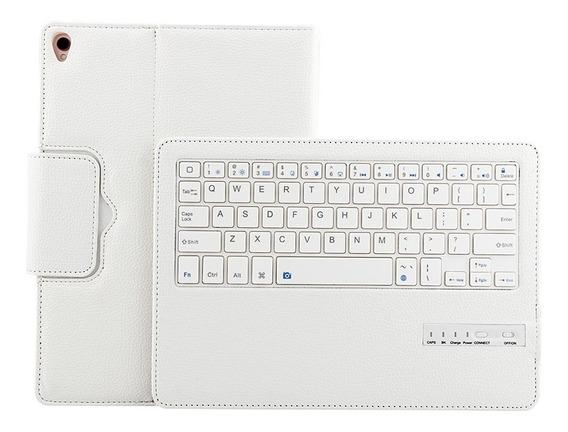 Suporte Folio Capa Com Teclado Bluetooth Sem Fio (preto)