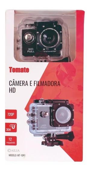 Filmadora Câmera Capacete Esporte Mergulho 720p Moto Hd