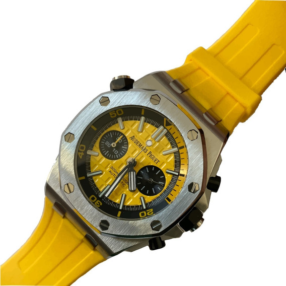 Reloj Audemars Piguet Royal Oak Offshore Caucho Amarillo